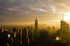 Manhattan Sunset   Flickr - Photo Sharing!