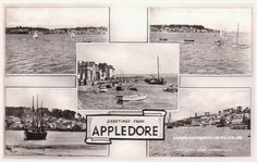 Old Appledore postcard Picture Postcards, Old Postcards, Hampshire, Great Britain, British, Mood, Pictures, Photos, Hampshire Pig
