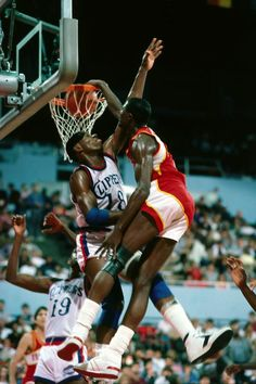 """Dominique Wilkins destroys Kevin Willis - """"Power, call me Ghost"""""""