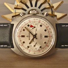 1960s SPERA [Swiss] Vintage Racing Chronograph Watch Landeron Cal. 48 | WE SPECIALISE IN VINTAGE CHRONOS - MORE IN OUR STORE!