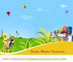#HappyMakarSankranti http://www.officersboulevardrevanta.com/ #LZoneDwarka #propertyinDelhi #LZoneDwarkaProjects