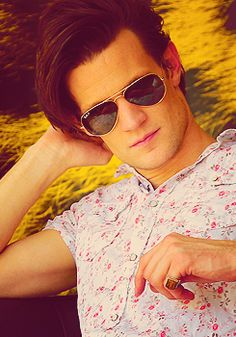 Matt Smith ;) I could do without the pinky ring but he is so hot!
