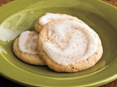 The chai gives this cookie a kick while the eggnog topping shows a sweet side.