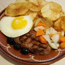 Bife a casa (Portuguese house steak)