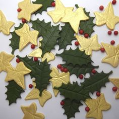 Xmas Cake Decorations From Morrisons