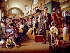 by Jim Daly [passing through Ellis Island]