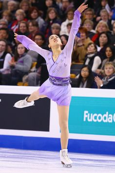 Mao Asada Photos - Mao Asada of Japan skates in the Ladies Free Skate on Day 6 of the ISU World Figure Skating Championships 2016 at TD Garden on April 2, 2016 in Boston, Massachusetts. - ISU World Figure Skating Championships 2016 - Day 6