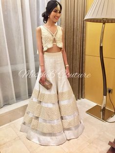 Kwincess lehenga by MischB Couture