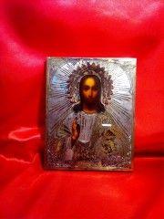 Икона Иисус Христос Вседержитель, 19 век.