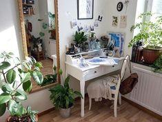 Imagem de plants, room, and indie