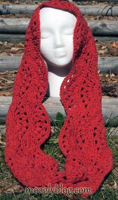Autumn Sunset Infinity Scarf, free crochet pattern by Tamara Kelly