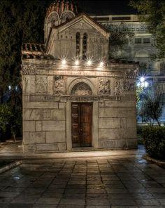 Kapnikarea Church, Ermou Street, Athens, Greece (by Alexandros87 on Flickr)