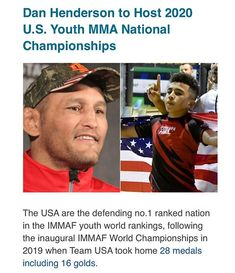 National Championship, World Championship, Dan Henderson, Team Usa, Baseball Cards, World Cup