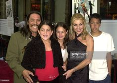 Danny Trejo, wife Debbie, daughters Rebecca & Danielle, son Gilbert