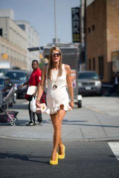 Anna Dello Russo, New York