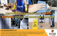 Central Management use #GuardPatrolSystem to #MonitorCleaners  #GuardPatrolProducts
