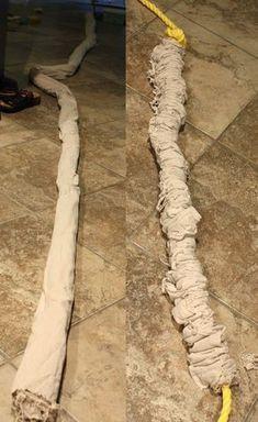 Finnfactor design: Rope Shibori Rippling Water Tutorial