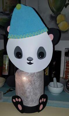 Panda Laterne