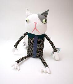 Winnie Von Katz Kitty by cottonmonster on Etsy