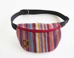 Bohemian Fanny Pack/Tribal Fanny Pack/ Tribal Belt by EcoClutch