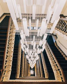 Staircase in #excelsiorgallia in Milan @excelsiorhotelgallia #spglife by vutheara