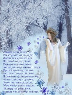 Kitchen Witch School of Natural Witchery: Yuletide Blessings
