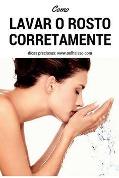 Como lavar o rosto da maneira correta? 5 truques para lavar o rosto corretamente. Como limpar a pele. como cuidar da pele do rosto.