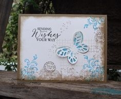 My Tanglewood Cottage: Timeless Textures Butterfly Basics, Stampin' Up!