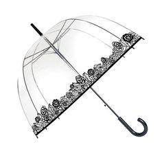 Parapluie dôme clair soake-Rose