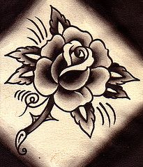 Rose Tattoo Flash | Flickr - Photo Sharing!