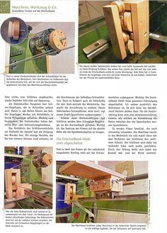 Lathe Router Spiral Cutting Jig - Lathe Woodturning