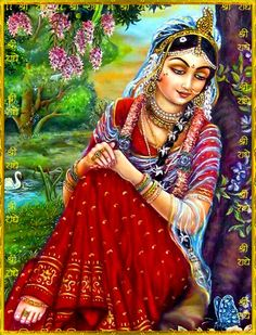 May Radha Rani continue to inspire us all to lose ourselves in our Love for Shri Krishna….and all of His creations. Krishna Leela, Lord Krishna Images, Radha Krishna Pictures, Radha Krishna Photo, Radha Krishna Love, Radhe Krishna, Shree Krishna, Lehenga, Lord Krishna Wallpapers