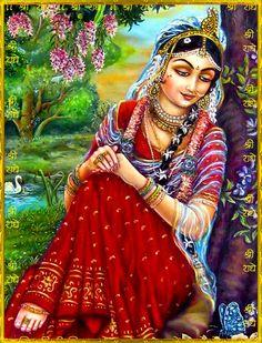 Sri Radha by VISHNU108 on DeviantArt