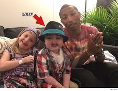 "Pharrell Williams 'Happy' Lift & Concert Hookup For Young Leukemia Patient   Pharrell Williams just made a little kid's dream come true by getting him a ride to his concert and serenading him with ""Happy"" onstage. Eight-year-old Reef Carnesonsuffers from acute lymphoblastic leukemia and has been in the hospital since he turned one. He's a huge Pharrell fan and dreamed of meeting him someday.Enter celebrity weed mogulturned cancer advocate Milk Tyson whomade a video last Wednesday with Reef…"