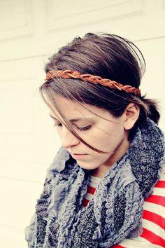 DIY Boho Headband.