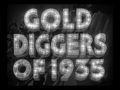 Gold diggers of 1935 trailer title 01