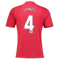 Manchester United 16-17 Phil Jones 4 Hjemmedraktsett Kortermet.  http://www.fotballteam.com/manchester-united-16-17-phil-jones-4-hjemmedraktsett-kortermet.  #fotballdrakter