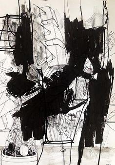 Apollo 6 by Thomas Dausell #kunst #kunstner #maleri #tegning - Beauton Art Gallery - http://beautonart.com | http://beautonart.dk