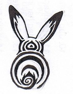 cute little bunny tatoo