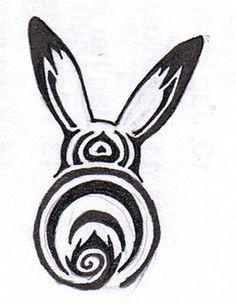 cute little bunny tatoo