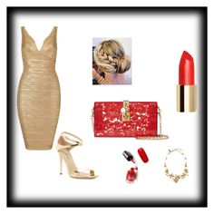"""Untitled #9"" by munira-salihovic ❤ liked on Polyvore featuring Via Spiga, Dolce&Gabbana and Oscar de la Renta"