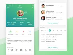 User Profile - Bitco App by Afif Bimantara #Design Popular #Dribbble #shots