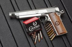 Coonan .357 Magnum Automatic with Compensated Barrel