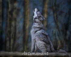 Custom Portrait, Custom Pet Portrait, Dog Painting, Custom Digital Painting, Drawing Painting From a Photo