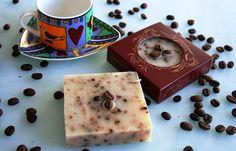 Jabón artesano de café. www.dispersia.es