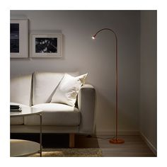 STOCKHOLM 2017 Floor lamp IKEA Integrated dimmer, to give general ...