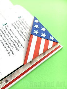 American Flag Bookma