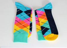$9.5  Colorful Plaid Man Socks Tartan Mixed Colors Socks for Men Husband Gift Fashion Socks Boyfriend Gift  gift for men by echerpe         #giftidea   #animal  #style   #stylish   #Lacescarf   #fringe  #funnysocks   #shophandmade   #style