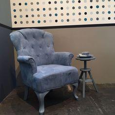 Prachtige stoel die matcht bij Denim Drift