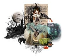 """Halloween"" by mljilina ❤ liked on Polyvore featuring art"